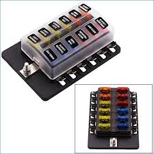 how to change fuses in old fuse box fidelitypoint net how to change a glass fuse amazon fuse block 12 way blade fuse box holder with led