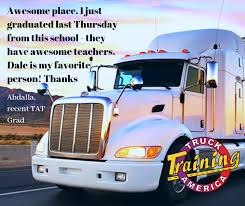 Thanks Abdalla! TAT Grads, we love to... - Truck America Training ...