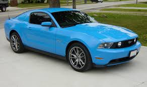 ford mustang 2014 blue. Interesting Ford Example Of Grabber Blue Paint On A 2014 Ford Mustang For D