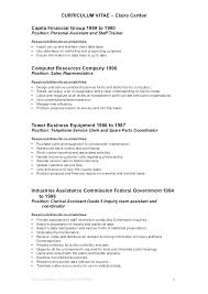 Office Position Resume Sample Resume Office Clerk Skinalluremedspa Com