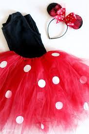 diy minnie mouse tutu costume idea