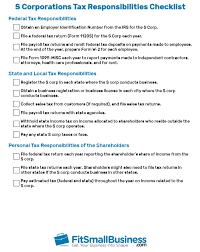 S Corp Taxes The Ultimate Guide Free Checklist