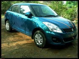 Suzuki Swift Ocean Light Blue Desire Again Maruti Swift Dzire Vdi Initial Ownership