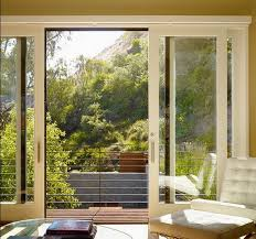 interior sliding glass doors with wood frames design
