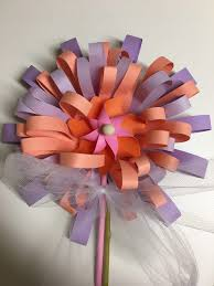 Paper Flower Pinwheels Make My Day Camp Paper Flower With Pinwheels