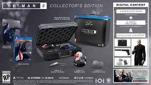 hitman 2 collector s edition only at gamestop contains