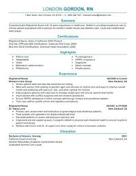 Nursing Student Resume Samples Extraordinary Resume Samples Certified Nursing Assistant Examples For Nurses With