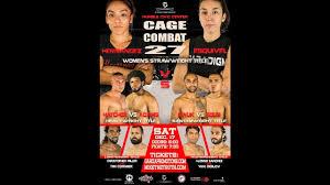 Cage Combat 27 - Dorado Gonzales vs Derrick Fields - YouTube