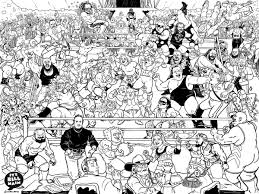 From wikimedia commons, the free media repository. It S Bill Main On Twitter Free 18x24 Coloring Page I M Making This Fantasy Royal Rumble Piece That I Drew Available As A Free Download For You To Print And Hopefully Color If