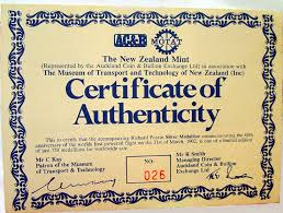 Certificate Of Authenticity Template Amazing FileRichardPearsecertificatejpg Wikipedia