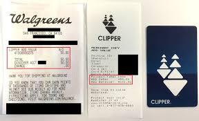 bart clipper card walgreens reload