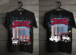 creative designs in lighting. T-shirt Design By Creative Gravity For Lighting Maintenance Inc |  #18009945 Designs In Lighting