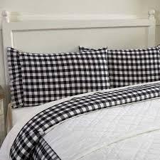 buffalo check pillows farmhouse bedding