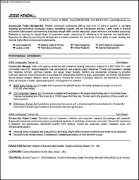 Supervisor Resume Examples Construction Supervisor Resume Examples Samples Fishingstudio 49