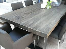 wood dining table grey kitchen table