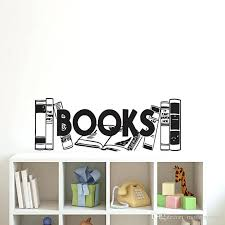 creative wall decals books wall stickers home decor living room bookshelf wall decals for creative wall creative wall decals