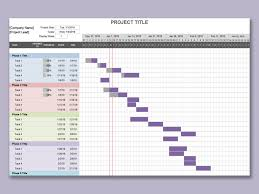 Gantt Chart Project Template Wps Template Free Download Writer Presentation