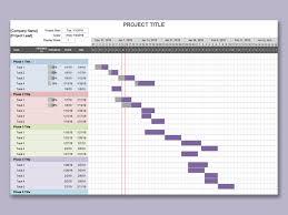 Gantt Chart Xlsx Wps Template Free Download Writer Presentation