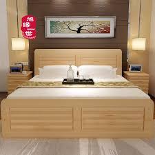 Furniture Bed Design Double Designs Catalogue Home Design Ideas Inside Wood Furniture