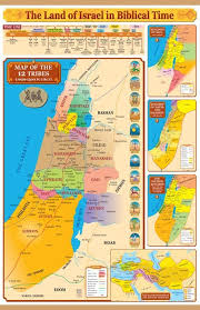 Ancient Biblical Empire Wall Maps Display Banners Wall