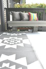 cb2 outdoor rug outdoor gray white runner cb2 indoor outdoor rug