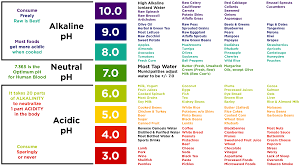 Alkaline Ph Level Chart Healthy Kids Ph Levels Pure Therapro Rx