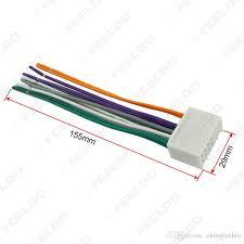 car audio cd stereo wiring harness adapter usb aux plug kia k2 2011~present k5 2011~present sportage r 2010~present