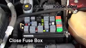 replace a fuse suzuki xl suzuki xl l v 6 replace cover secure the cover and test component