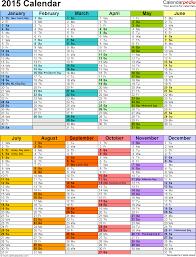 Calendar Planner Printable 2015 Download Pdf Template For 2015 Calendar Template 12 Two