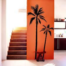 palm tree wall art lovely set of 2 palm tree vinyl decal wall art wall stickers on palm tree wall art set with palm tree wall art lovely set of 2 palm tree vinyl decal wall art