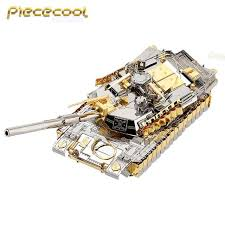 piececool 3d metal puzzle boats models nagato class battleship diy laser cutting puzzles jigsaw model for adult kids toys