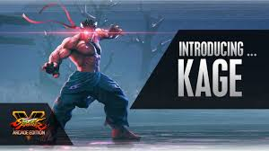 Street Fighter 5 Steam Charts Street Fighter 5s First Season 4 Character Kage Revealed