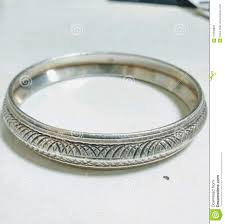 Silver Kada Design For Man Silver Kada Stock Photo Image Of Wear Bangle Kada 119205920