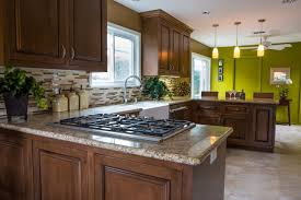 Kitchen Accent Wall Kitchen Cabinets Golden Oak Quicuacom