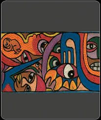 african painting african abstract painting lrg