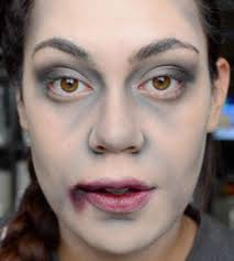 25 best ideas about zombie makeup easy on
