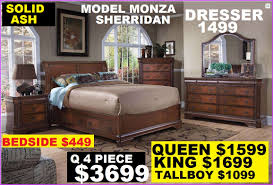 Solid Timber Bedroom Suites Queen Bed 1699 King Bed 1799 Bedroom Suite Available Solid