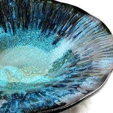 Teal Decorative Bowl decorative large bowls frankfreyph 1