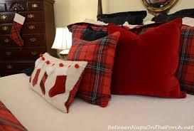 ralph lauren red velvet pillow