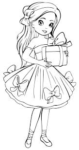 Dolls Coloring Pages Free Printable Dolls