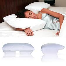 Amazon.com: Better Sleep Pillow - Memory Foam 5 Inch Hight With Cream  Velour Cover - Tempur Neck Pillow - Sleeping On Arm Under Pillow Best For  Side And ...