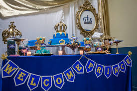 Blue And Gold Baby Shower Decorations 17 Best Images About Royal Prince On Pinterest Baby Shower