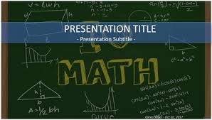 Math Templates Free Math Powerpoint Templatesfor 2018 The Highest Quality