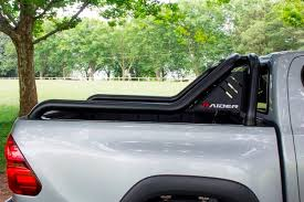 SYCOR Hilux Spartan Range Sport Roll Bar Black Stainless Steel ...