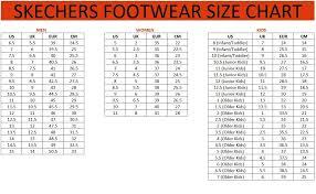 Skechers Kids Shoe Size Chart Www Bedowntowndaytona Com