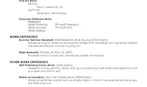 Free Easy Resume Basic Resume Templates Nice Sample Of A Simple