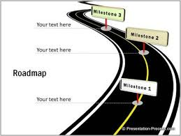 road map powerpoint template free free roadmap templates blank road map template nps presentation