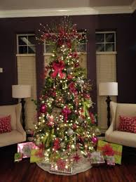 whimsical christmas tree-want green, purple, and blue :)