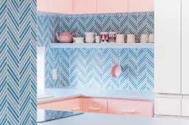 Light Blue Herringbone Tile Photo 1 Of 6 In Best Kitchen Colorful Mosaic Tile Photos