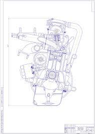 Курсовые и дипломные работы автомобили расчет устройство  Курсовая работа Расчет автомобильного двигателя ВАз 2109 Мощность 53 кВт